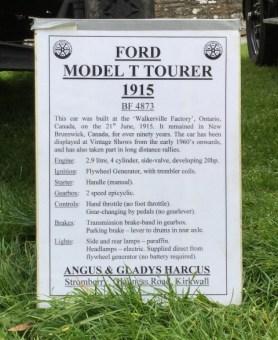 Ford Model T OISF 2019