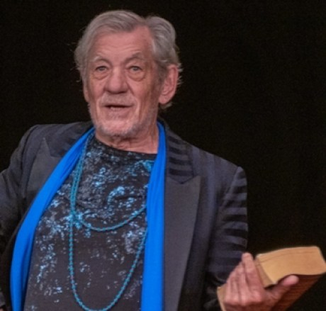 Ian McKellen photo Mike Robertson