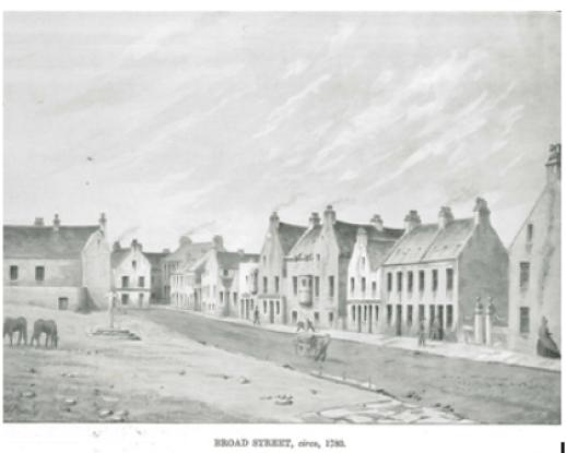 Broad Street Kirkwall 1780