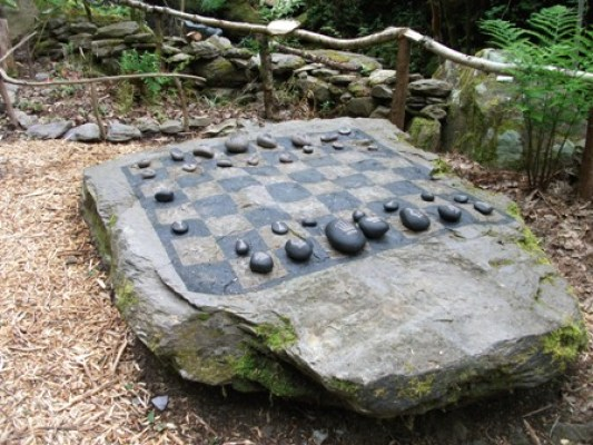 Iron Age gaming pieces recreation Cork Bell