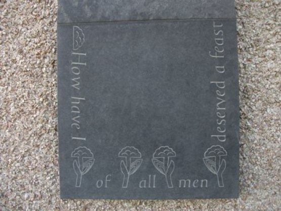 St Magnus waymarker Orphir France Pelly Bell