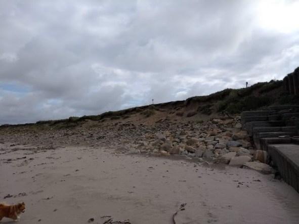Skara Brae coastal erosion 2019