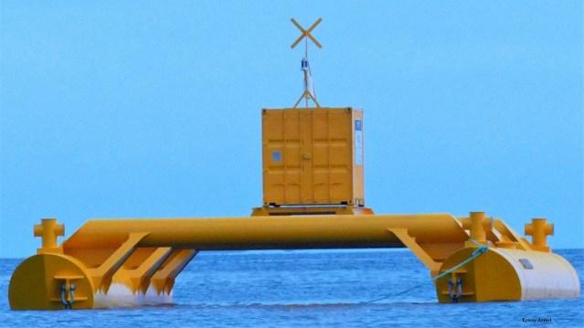 Leask Marine Marinus Tidal Testing Platform