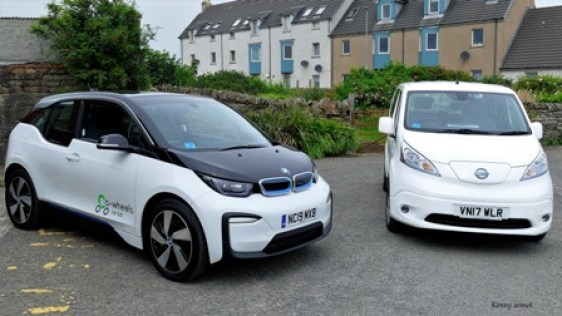 BMWi3s & Nissane-NV200 combi by Kenny Armet