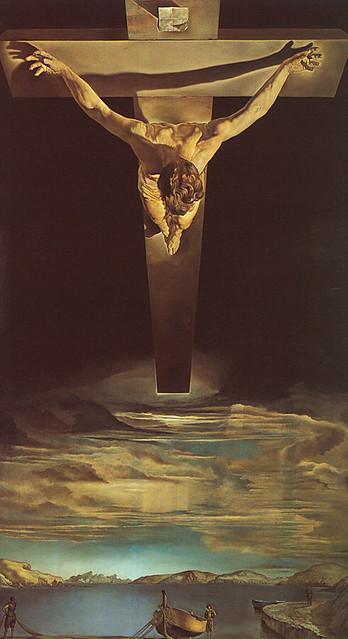 Dali Painting Christ of St John of the Cross
