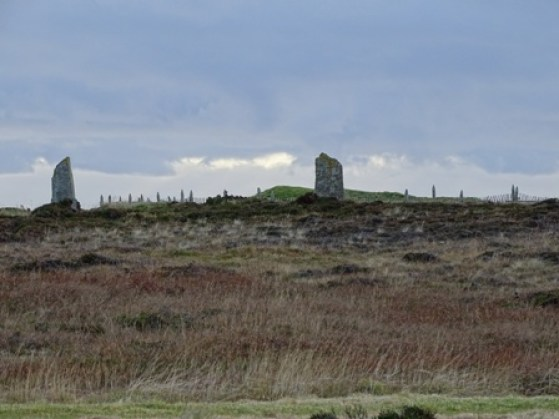 Ring of Brodgar fencing Bell
