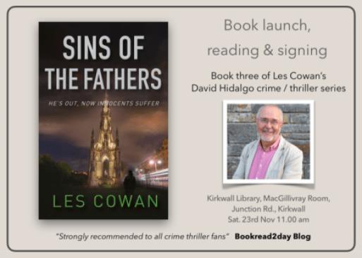 Les Cowan Book Launch