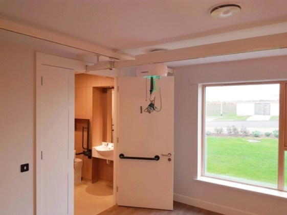 Innova Airglide Hoist St Peters Orkney Care Home