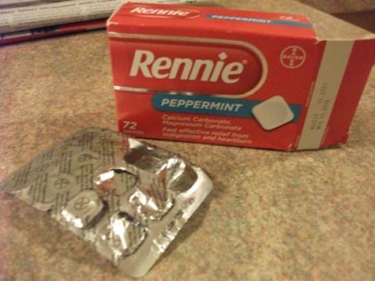 Rennie tablets Bell