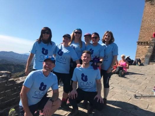 CLAN China trek team 2019_2