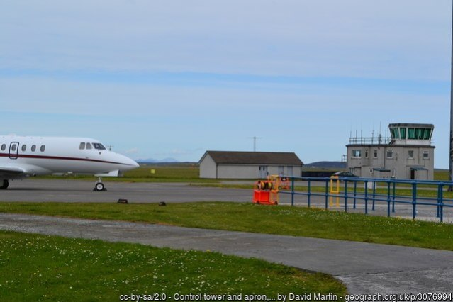 Benbecula airport by David Martin