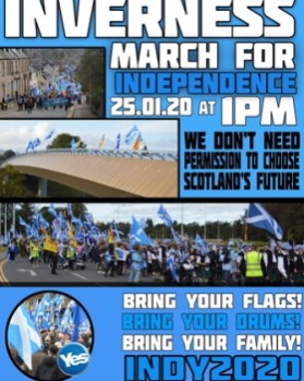 Inverness March poster