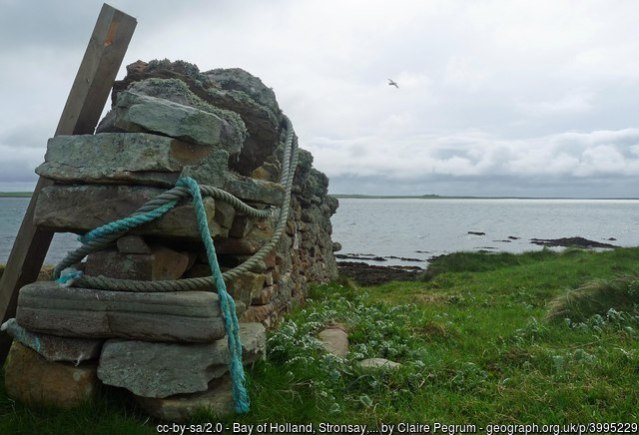Bay of Holland Stronsay by Claire Pegrum