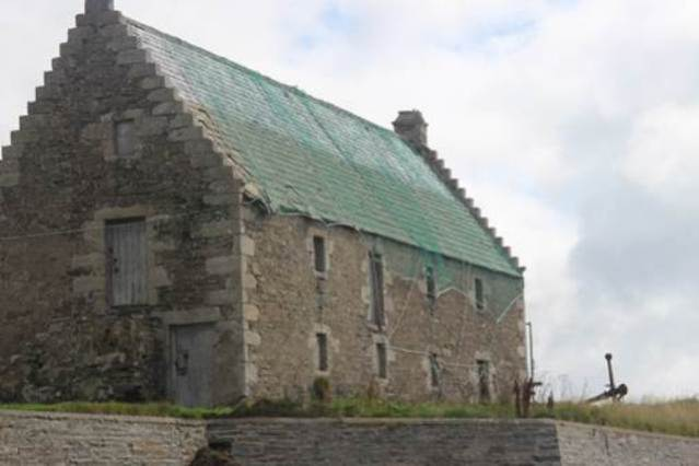 17th century Storehouse, St Mary's, Orkney
