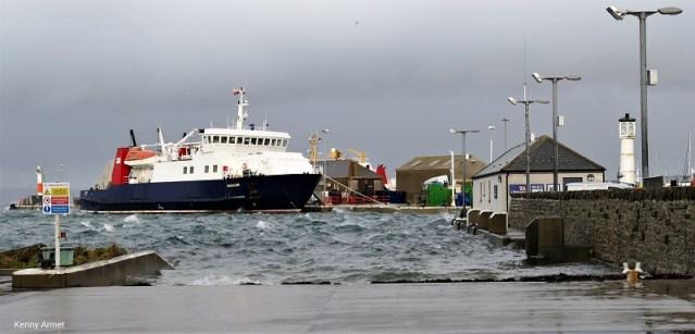 Shapinsay Pier 11th Feb 2020