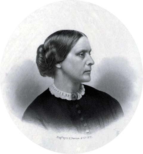Susan B_Anthony c1855 US Suffragist