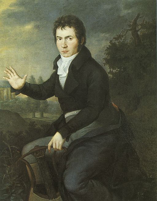 Beethoven by Mähler 1804