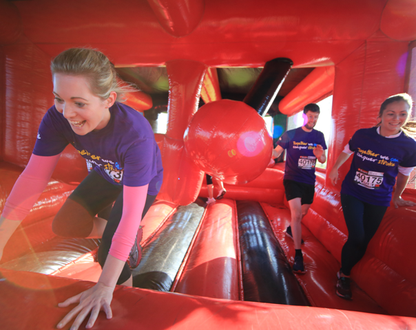 inflatable fun run from UK running events