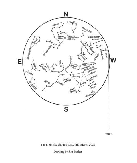 March 2020 map Duncan Lunan astronomy