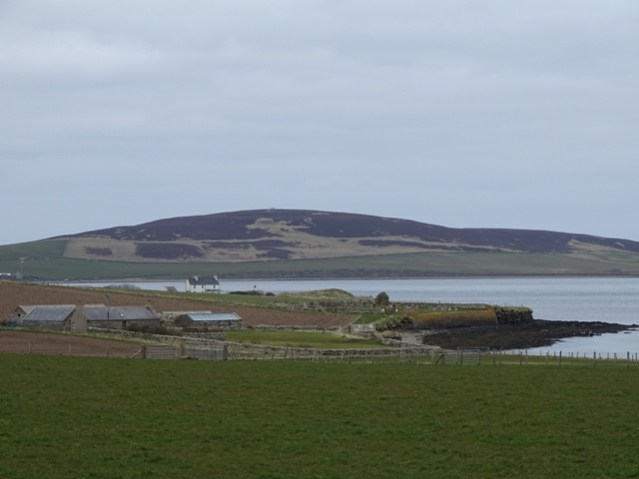 Rendall looking across to Gairsay Bell