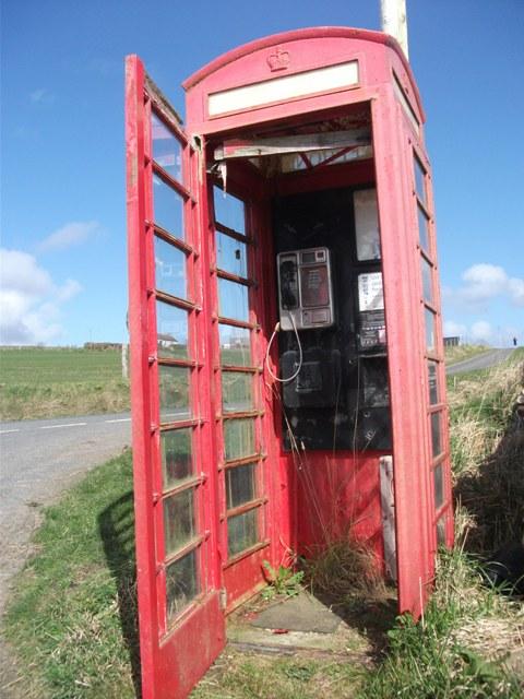 BT phone box Rendall credit Bell