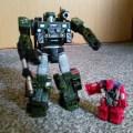 Transformer Hound with Smashdown, Battlemaster an evolution of Target Master
