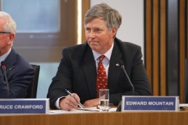 Edward Mountain MSP Convener of the Rural Economy and Connectivity Committee Scottish Parliament