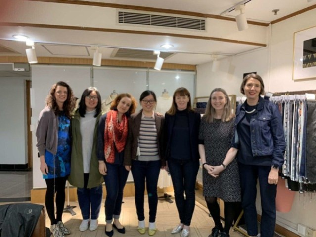 shanghai RGU & partners textile clothing project
