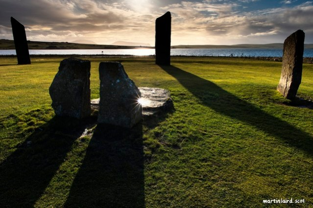 The Standing Stones of Stenness by Martin Laird
