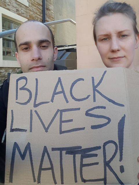 Black Lives Matter Orkney 17 June 20202