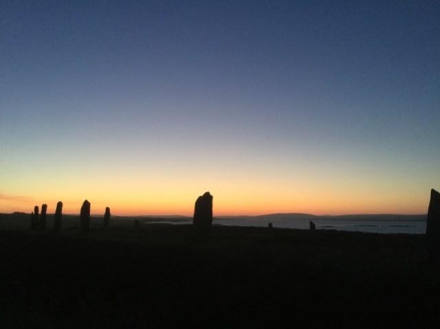 Brodgar summer solstice 1