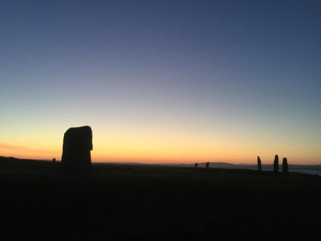 Brodgar summer solstice 4