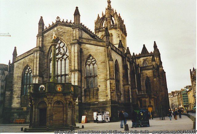 St Giles Cathedral Edinburgh  credit Colin Smith