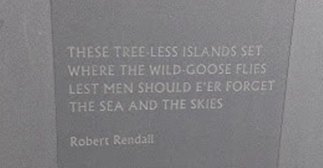 kitchener memorial Robert Rendall verse