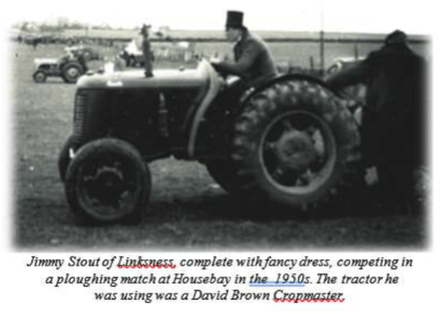 ploughing match Stronsay 1950s Ian Cooper Stronsay Limpet