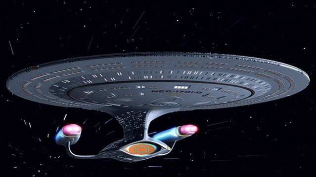 U.S.S. Enterprise NCC 1701-D Star Trek