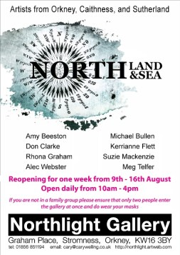 Land and sea Northlight Exhibition