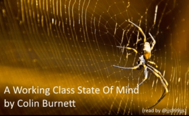 A working Class State of Mind by Colin Burnett