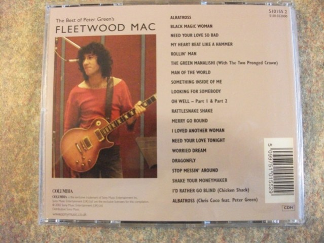Peter Green Fleetwood Mac Bernie