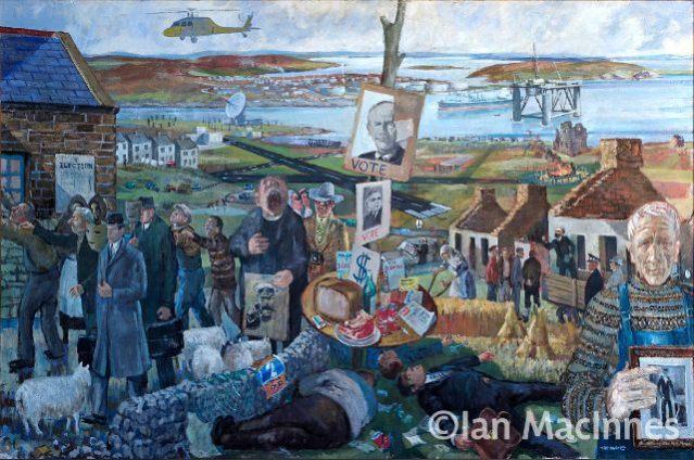 Land of Oil. Ian MacInnes, c.1980 web use