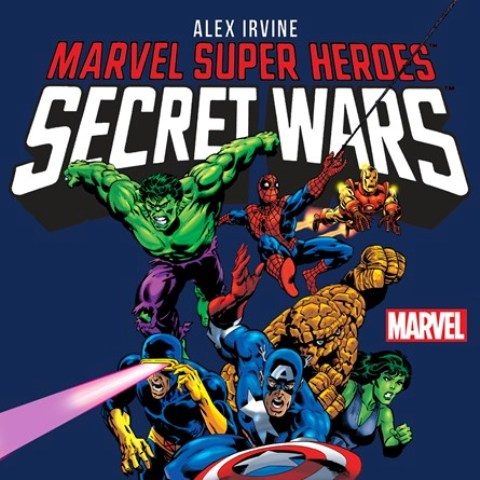 Marvel Super Heroes Secret Wars Audiobook