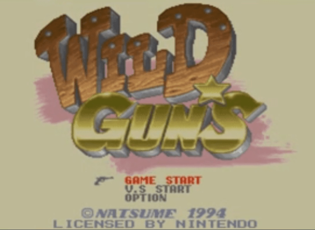 Wild Guns Game on Switch