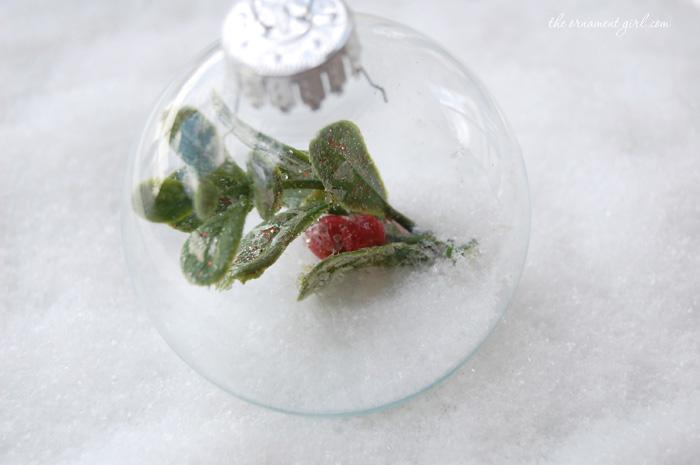 mistletoe ornaments
