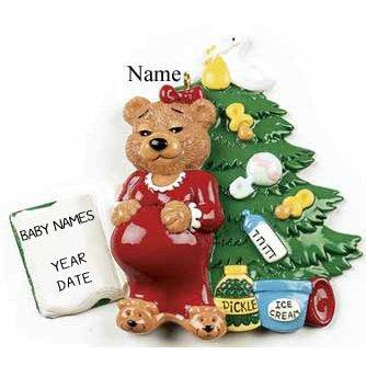 Expecting mum Christmas Ornament