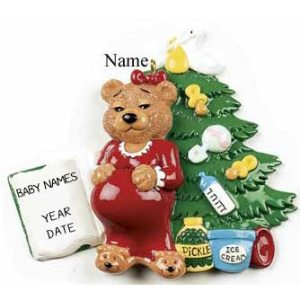 Expecting Mum Christmas ornament