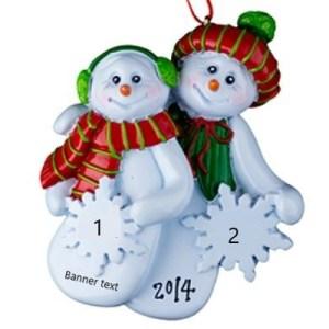 Snowflake couple
