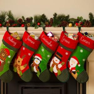 Santa's Personalised Christmas Stockings