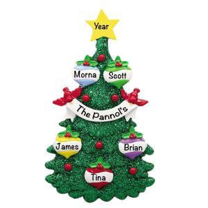 Glitter Green Christmas Tree 5