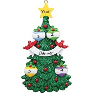 Glitter Christmas Tree 4