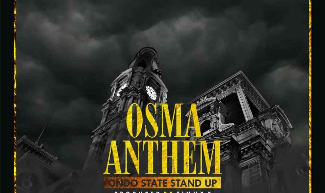 86372602f3 OSMA MUSIC: OSMA ANTHEM BY CC SOLDIERS - THE OSMAs